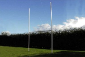Junior Rugby Posts for kids