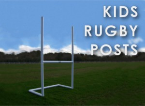 Rugby posts for kids, portable kids rugbypost